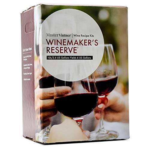 Master Vintner Winemaker's Reserve Cabernet Sauvignon Wine Recipe Kit Makes 6 Gallons