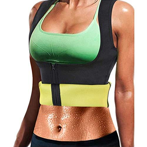 Litthing Chaleco Deportivo de Yoga para Mujer Fitness Sauna Neopreno Chaleco de Entrenamiento Compresión Establecer Estatua para Deporte Fitness 🔥