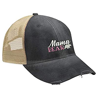 Piper Lou - Mama Bear Trucker Hat with Snapback Enclosure