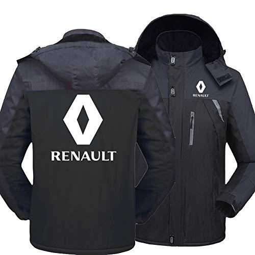 SPORTYAN Herren Regenfest Hooded Jacke Samt Draussen Beiläufig Windbreaker Zum Renault Warm Mantel Y / A1 / S