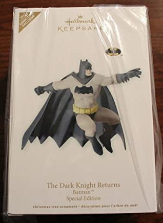 "SDCC San Diego Comic Con Hallmark 2012 Exclusive Batman a Human Hero ""The Dark Knight"