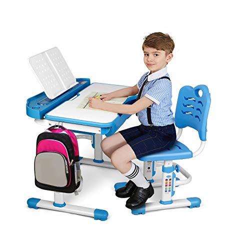 SIMBR Kids Desk and Chair Set, H...