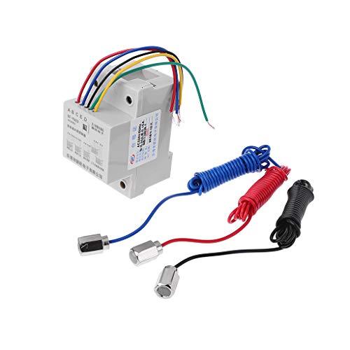 HUIJUAN DF-96ED Interruptor controlador de nivel de agua automático 10A 220V Tanque de agua Sensor de detección de nivel de líquido Controlador de bomba de agua