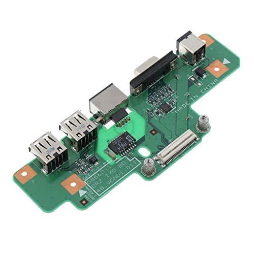 MERIGLARE para Inspiron 1750 Interruptor de Interruptor de Toma de Corriente CC para Computadora Portátil