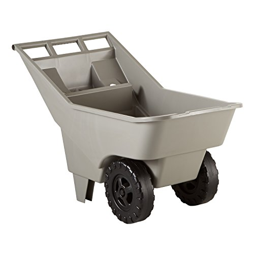Rubbermaid Commercial FG370712907 3.25-Cubic Foot Roughneck Lawn Cart...