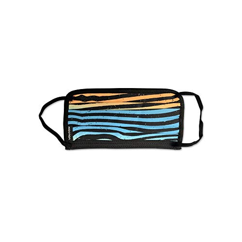 Volcom Adult Reusable Washable Face Mask, Rincon Blue, One Size