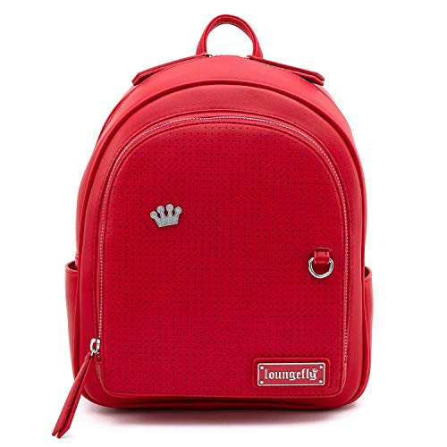 Loungefly Red Pin Trader Mini Backpack