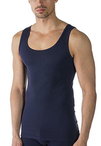 Mey Basics Serie Casual Cotton Herren Shirts 1/1 Arm 49100, Yacht Blue, 6