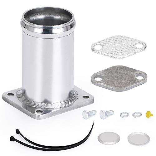 EnthusiasmX Accesorios para automóviles Kit de remoción de Aluminio EGR/EGR Eliminar Kit...