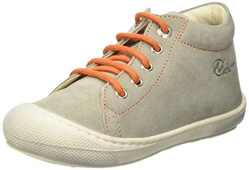 Naturino Baby Jungen Cocoon Sneaker, Taupe-Orange, 24 EU