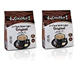 2 Packs Chek Hup 3 in 1 Ipoh White Coffee - Original Imported from Malaysia ( 2x12 sachets )