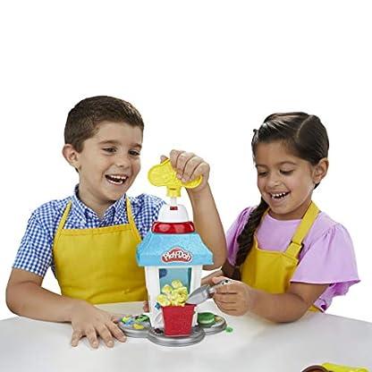 Play-Doh Popcornmaschine mit 6 Dosen Play-Doh Knete, ab 3 Jahren 7