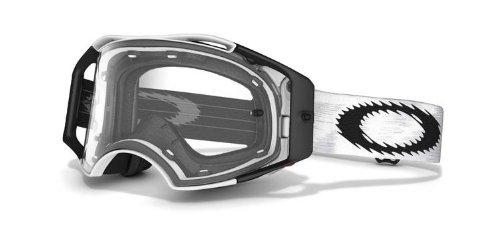 Oakley Airbrake MX Gafas, clear, Einheitsgröße para Hombre