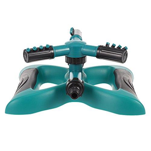 BEST OF BEST Lawn Sprinkler Automatic 360 Degree Rotating Garden Water Sprinklers Yard Irrigator Sprayer Covering Large Area