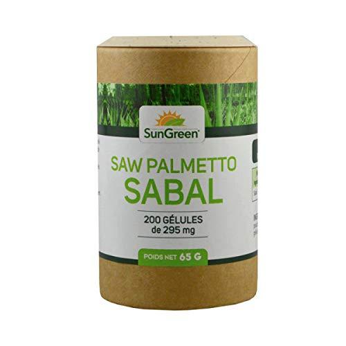 Saw Palmetto (Sabal) - 200 gélules de 295 mg