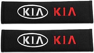 JYJIAJU 2pc Car Styling Accessories Seat Belt Shoulders Pad Truck Cushion Cover For Kia Ceed Rio Sportage R K3 K4 K5 Ceed Sorento Cerato