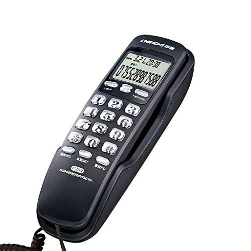 WYJW Stand/Hang Dual-Purpose Telephone, Caller ID Mini Extension, Battery-Free Home Office Fixed landline