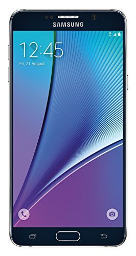 Samsung Galaxy Note5 N920V 32GB Verizon CDMA No-Contract Smartphone - Black Sapphire (Renewed)