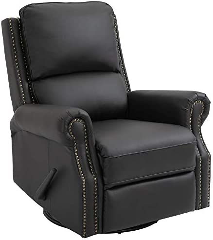 Top 10 Best homcom massage heated pu leather 360 degree swivel recliner chair with remote -tan Reviews