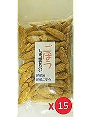 【Amazon.co.jp 限定】(15個)ごぼうせんべい 100g Burdock Rice Cracker 15 Pack