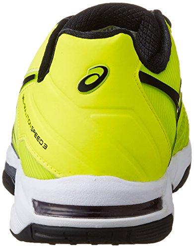 『[アシックス] テニスシューズ GEL-SOLUTION SPEED 3 OC (旧モデル) メンズ フラッシュイエロー/ブラック 26.5』の2枚目の画像