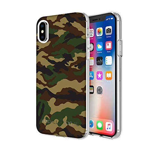 Kendall and Kylie Protective Printed Case for Apple iPhone X - Camo Print