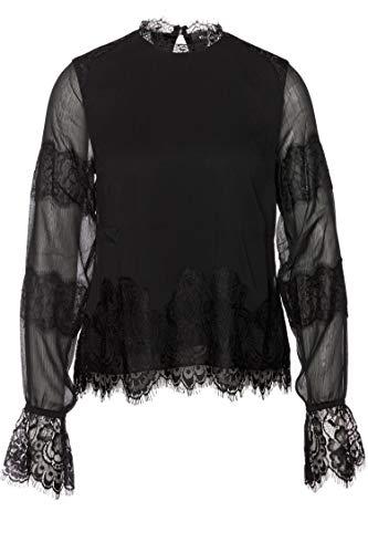 Tigha Damen Kimiko Bluse, Schwarz (Black 900), X-Small