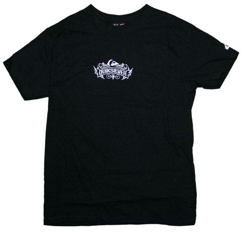Quiksilver Admiral - Camiseta de Manga Corta, Color Negro - Negro - Small