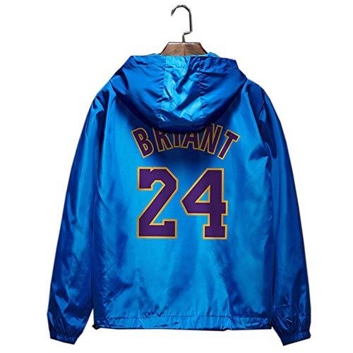 Lakers Kobe 24 chaqueta deportiva de entrenamiento hip-hop verano protector solar chaqueta cortaviento delgada
