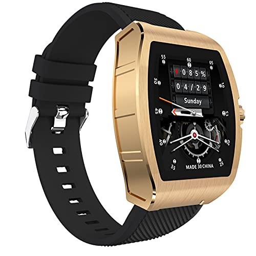 PFMY.DG Relojes Inteligentes para Hombres Mujeres con monitoreo avanzado de Salud 1.4 Pulgadas Pantalla táctil Relojes Bluetooth IP68 Reloj Inteligente Impermeable