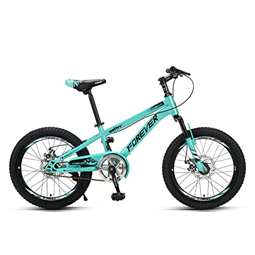 MIAOYO 20 Inch Mountain Bicycle,27 Speed Front Fork Suspension Variable Speed Racing Mtb,Disc Brake Carbon Steel Mountain Bike For Ladies Teens,Green,20'