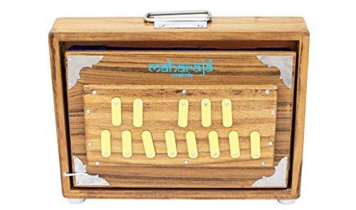 Shruti Box/ Shrutiboxen, Maharaja Musicals - Teak Wood Surpeti - 13 Drone Notes C-to-C Shruthi Indian Musical Instrument (PDI-ABC)