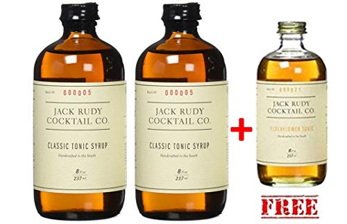 Jack Rudy Tonic Sirup (2 x 237ml für bis zu 25 Gin&Tonic)