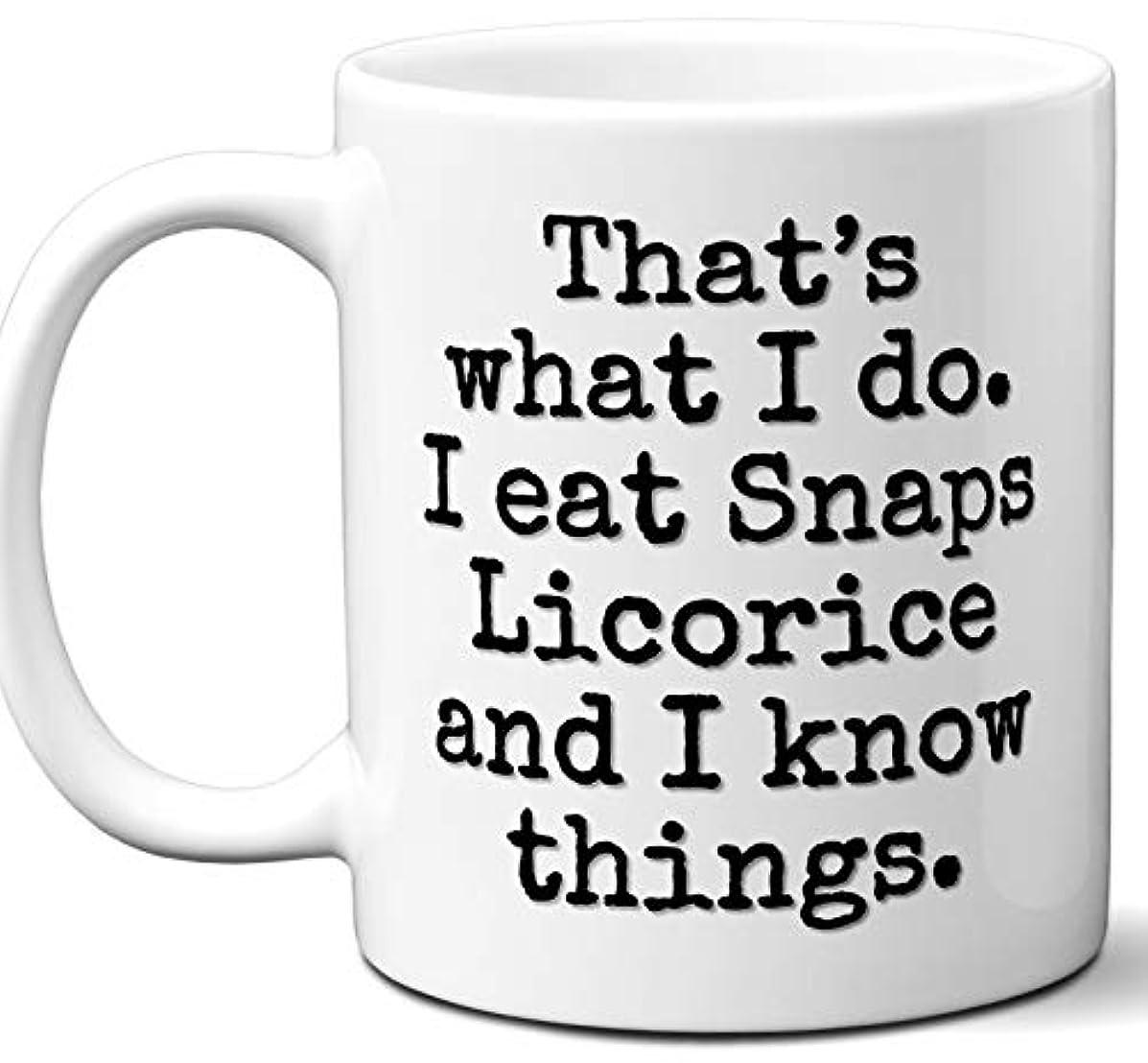 Snaps Licorice Gift Lover Coffee Mug.