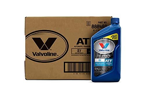 Valvoline ULV Transmission Fluid 1 QT, Case of 6