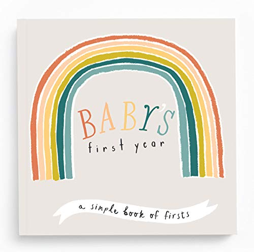 Baby Journal - Little Rainbow Memory Book