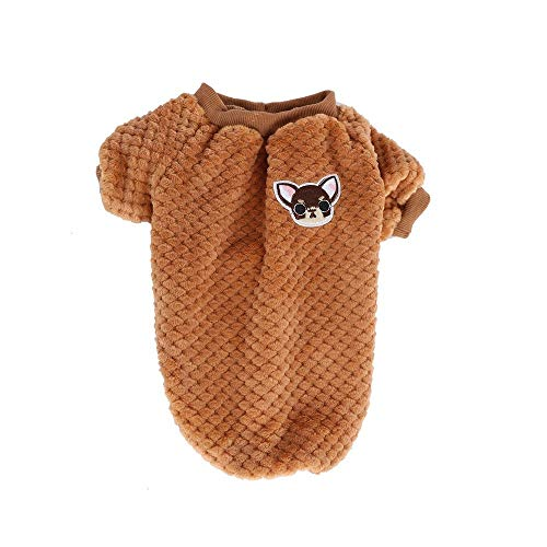 jieGorge Solid Cartoon Pet Clothes Cat Dog Warm Transfiguration Autumn Winter, Products for Christmas Day (COS)