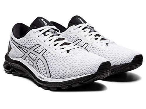 ASICS GT-1000 9 Zapatillas de running para hombre, Blanco (Blanco/Negro), 41 EU