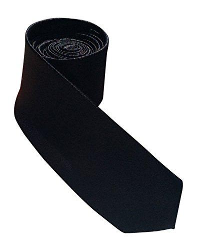 Chaussettes pour homme en satin snob mageren cravate (tie) les couleurs - Noir - Taille unique