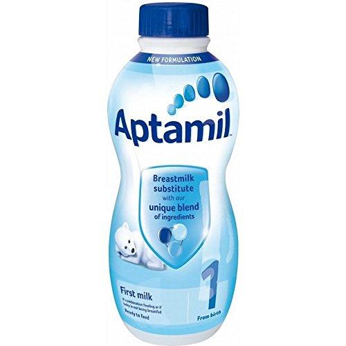 Aptamil Erste Säuglingsmilchfertig von Geburt an Phase 1 (1 l) - Packung mit 2