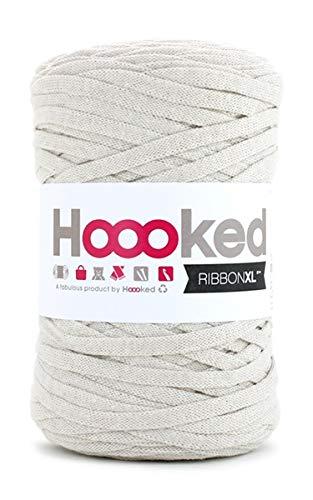Hoooked Zpagetti Ribbon XL Bändchengarn alle Farben zur Wahl (creme)