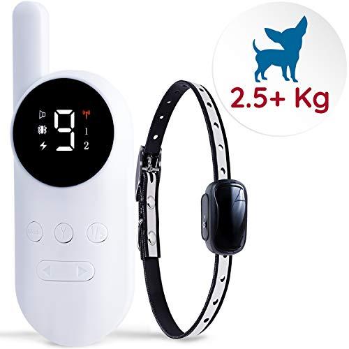 Good Boy Mini-Fernbedienungshalsband für Hunde mit Piepton und Vibrationsmodi für das Verhalten von Haustieren, für extra kleine und mittelgroße Hunde