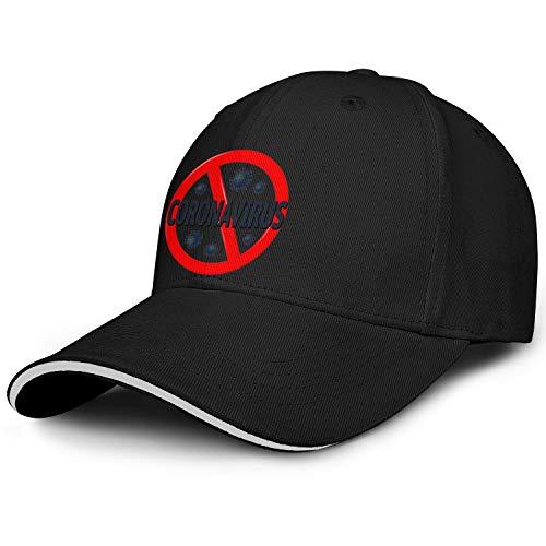 Boys Baseball Cap Co-ro-na-Virus- Classic Adjustable Snapback Hiking Hat