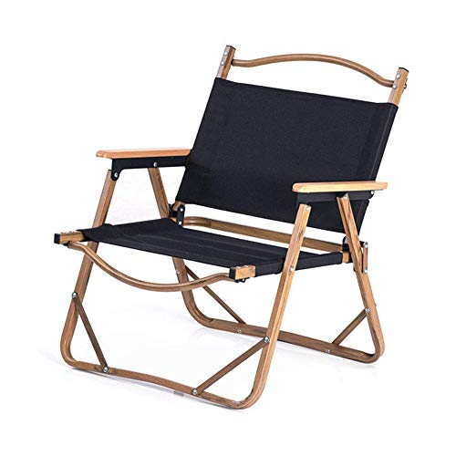 WJXBoos Sillas de Camping Silla de Exterior Plegable de Aluminio portátil Silla de salón Individual Silla de jardín Ligera y fácil de Pescar