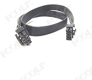 FCQLR para Corsair AX760i / 860i / 1200i / AX1500i Module Power Supply CPU 8pin (4 + 4) Power Cord 0.6m