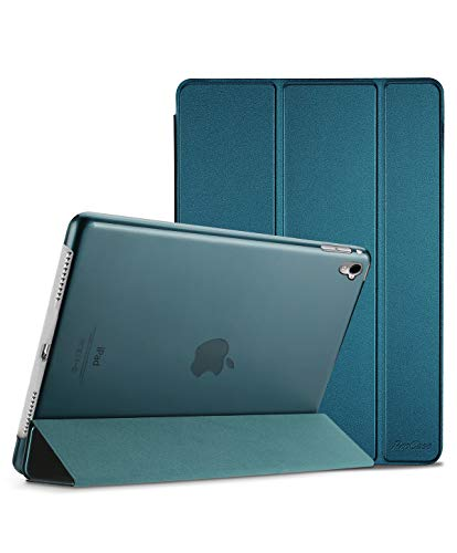 ProCase iPad Pro 9.7 Case 2016 (Old Model), Ultra Slim Lightweight Stand Smart Case Shell with Translucent Frosted Back Cover for Apple iPad Pro 9.7 Inch (A1673 A1674 A1675) -Teal