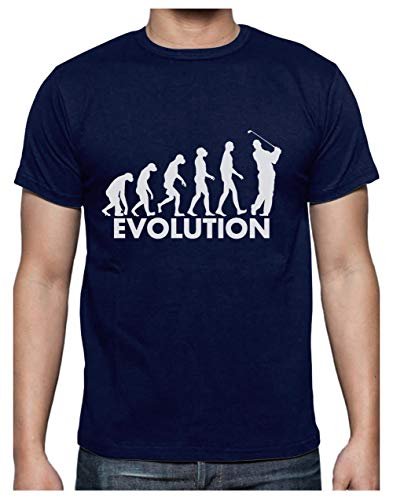 Green Turtle T-Shirts Golf Evolution - Humour pour...