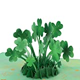 Lovepop Saint Patrick's Day Lucky Clover Pop Up Card - 3D Cards, St. Patrick's Day Card, Lucky Clover, St. Patrick's Day, Happy St. Patrick's Day Card