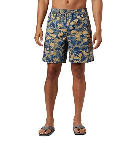 Columbia Pantalones Cortos de Agua Super Backcast para Hombre, Hombre, 1715381, Playa...