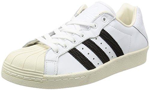 adidas Originals Ultrastar 80s Schuhe Damen Sneaker Turnschuhe Weiß, Größenauswahl:42